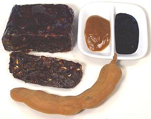 Tamarind Blocks, Pastes, and Pod