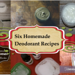 Six Homemade Deodorant Recipes
