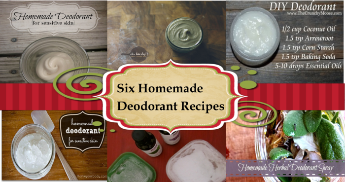 **Check out this DIY deodorant spray recipe from Kula Mama!