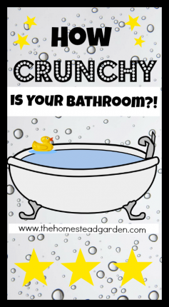 How Crunchy is Your Bathroom