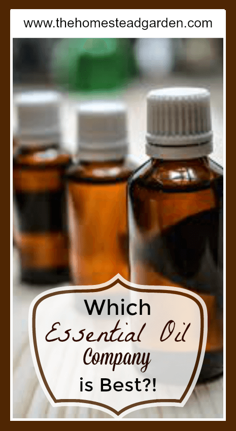 Which Essential Oil Company is Best?!