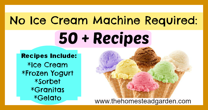 50 No Ice Cream Maker Recipes