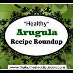 Healthy Arugula Recipes