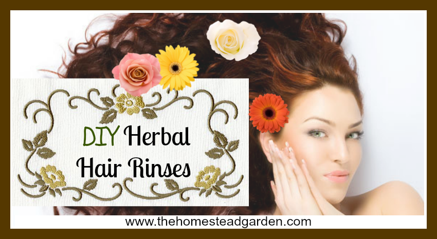 DIY Herbal Hair Rinses fb