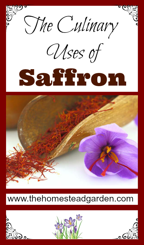 The Culinary Uses of Saffron
