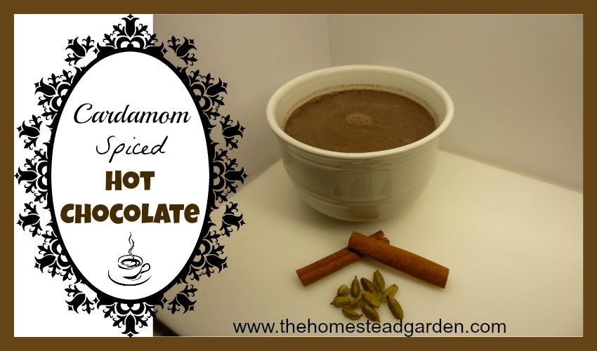 Cardamom Spiced Hot Chocolate fb