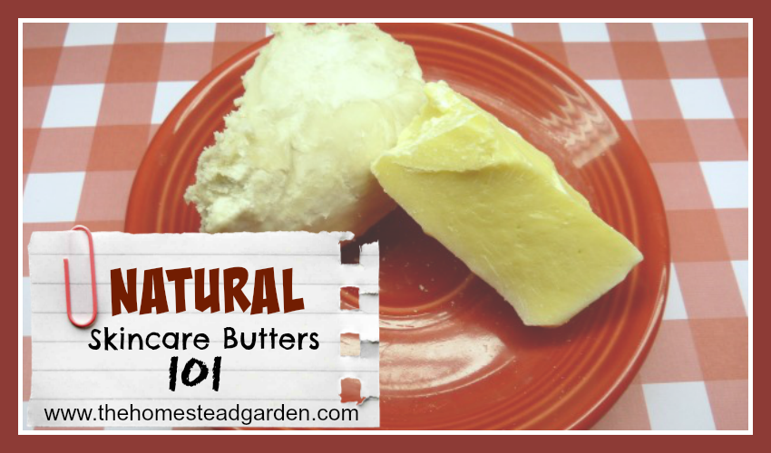 Natural Skincare Butters 101