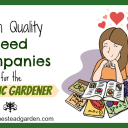 High Quality Seed Companies for the Organic Gardener