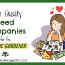 High Quality Seed Companies for the Organic Gardener