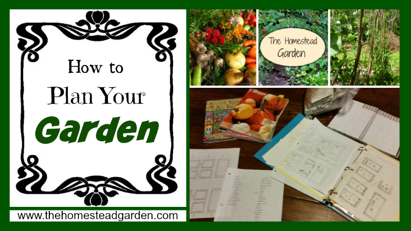 How to Plan Your Garden The Homestead Garden The Homestead Garden
