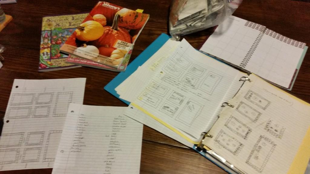 garden notebook