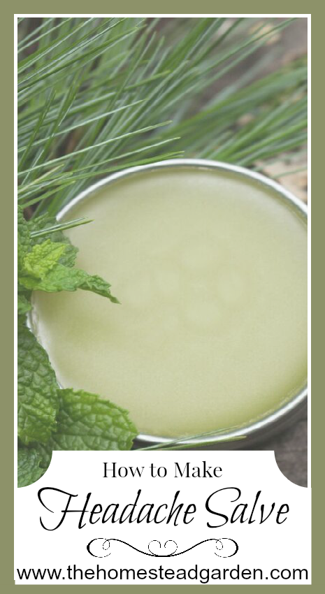 How to Make Headache Salve