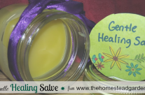 How to Make a Gentle Healing Salve