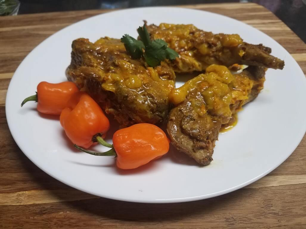 Citrus Habanero Rabbit (or Chicken!) Recipe