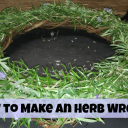 How to Make an Herb Wreath