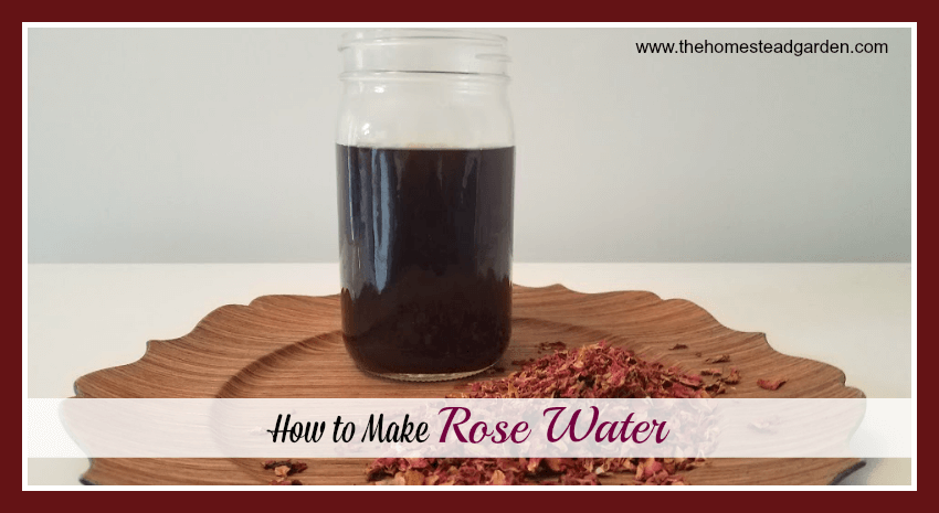 How to Rose Water
