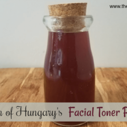 Queen of Hungary's Facial Toner Recipe