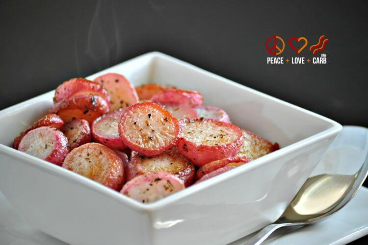 20+ Radish Recipes: Butter Roasted Radishes