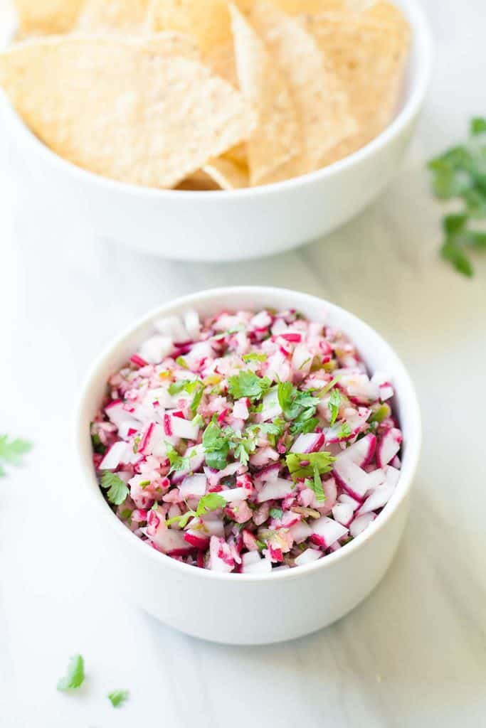 20+ Radish Recipes: Radish Salsa