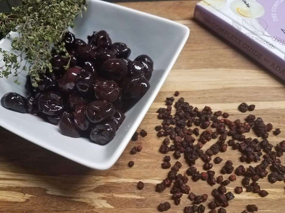 Sleepytime Brandied Berries and Cherries Recipe and Book Review