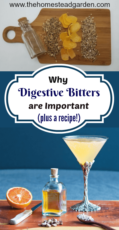 Why Digestive Bitters are Important (plus a recipe!)