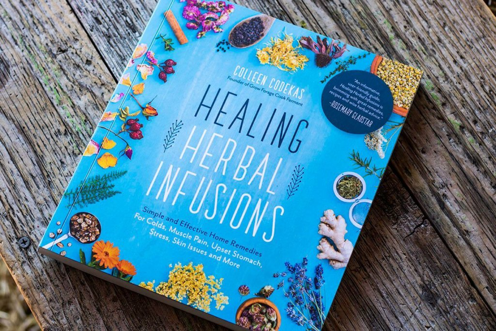 healing herbal infusions book cover
