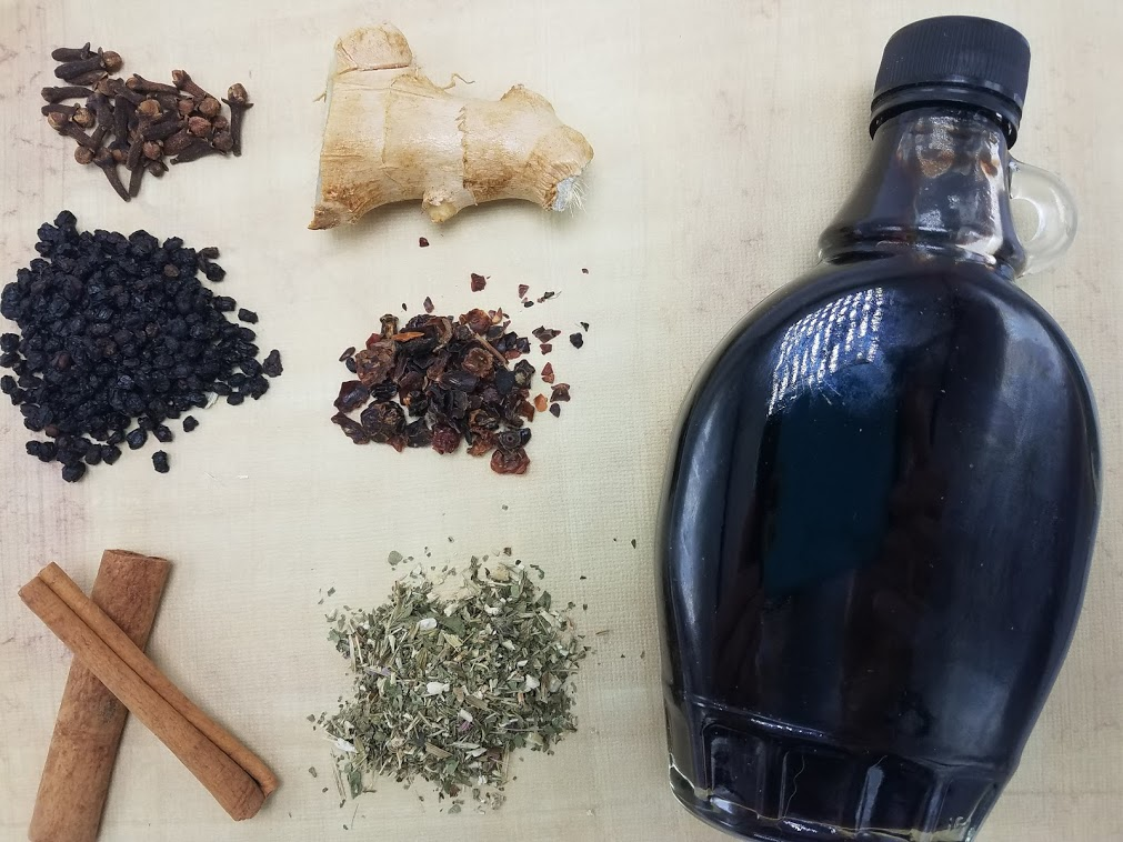 How to Make Elderberry Syrup: Ingredients