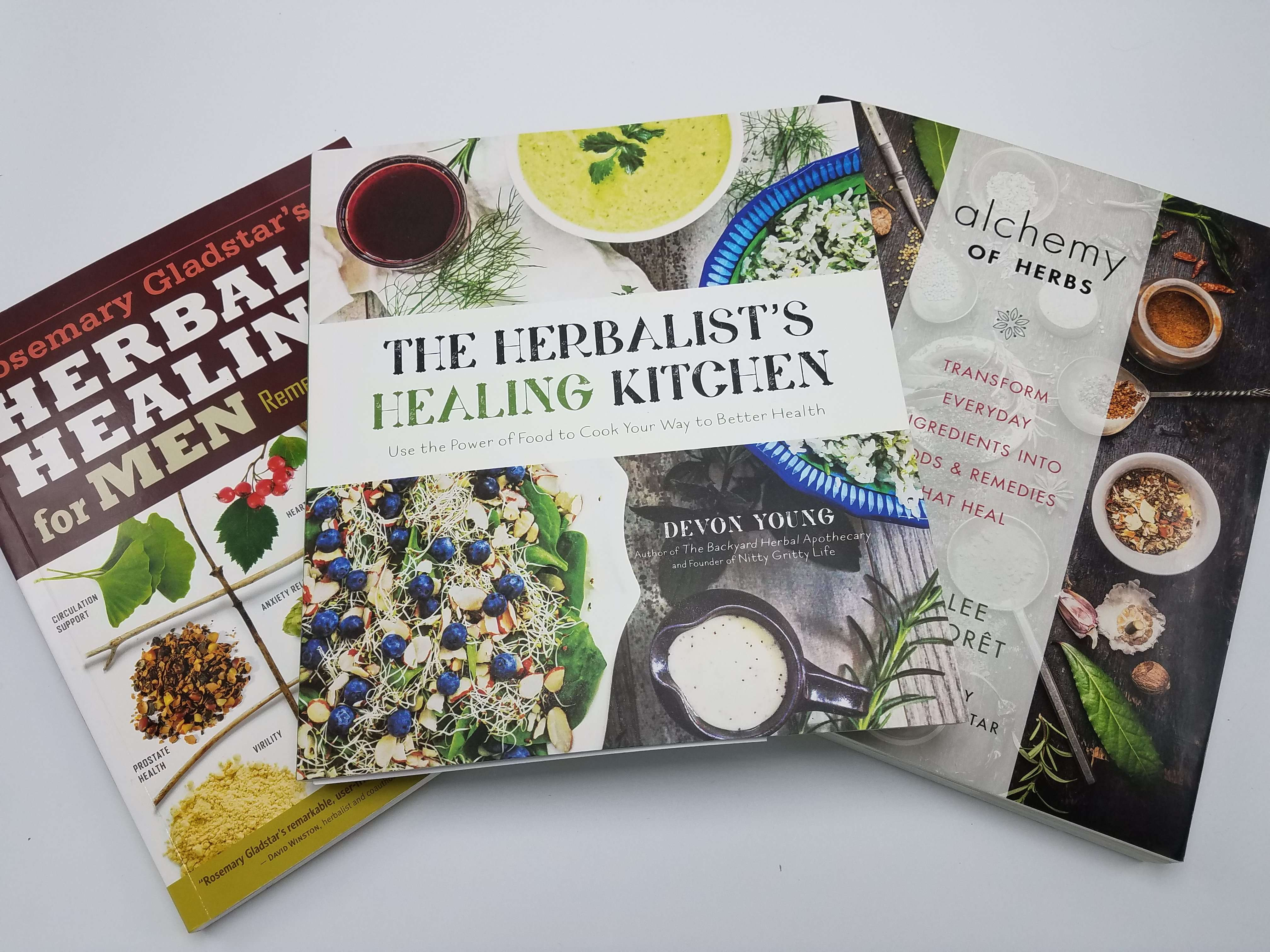 Great herbalist books for the Kitchen