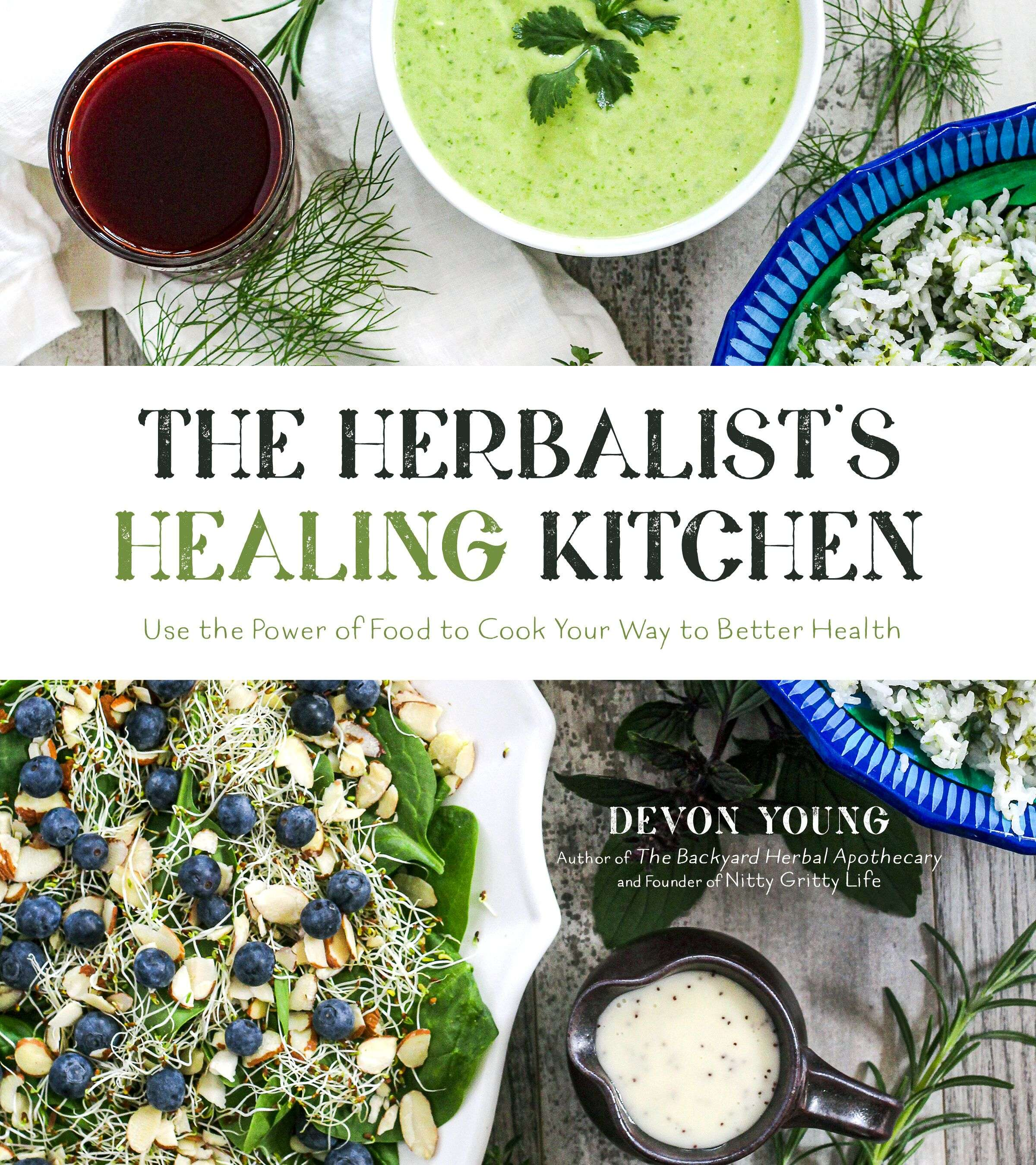 The Healing Herbalist's Kitchen Book Cover