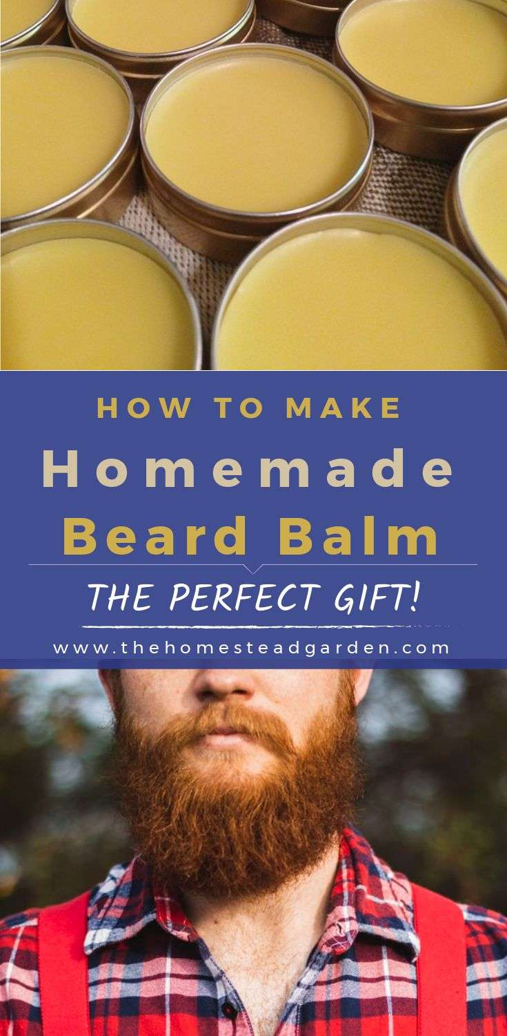 How to Make Homemade Beard Balm (the perfect gift)