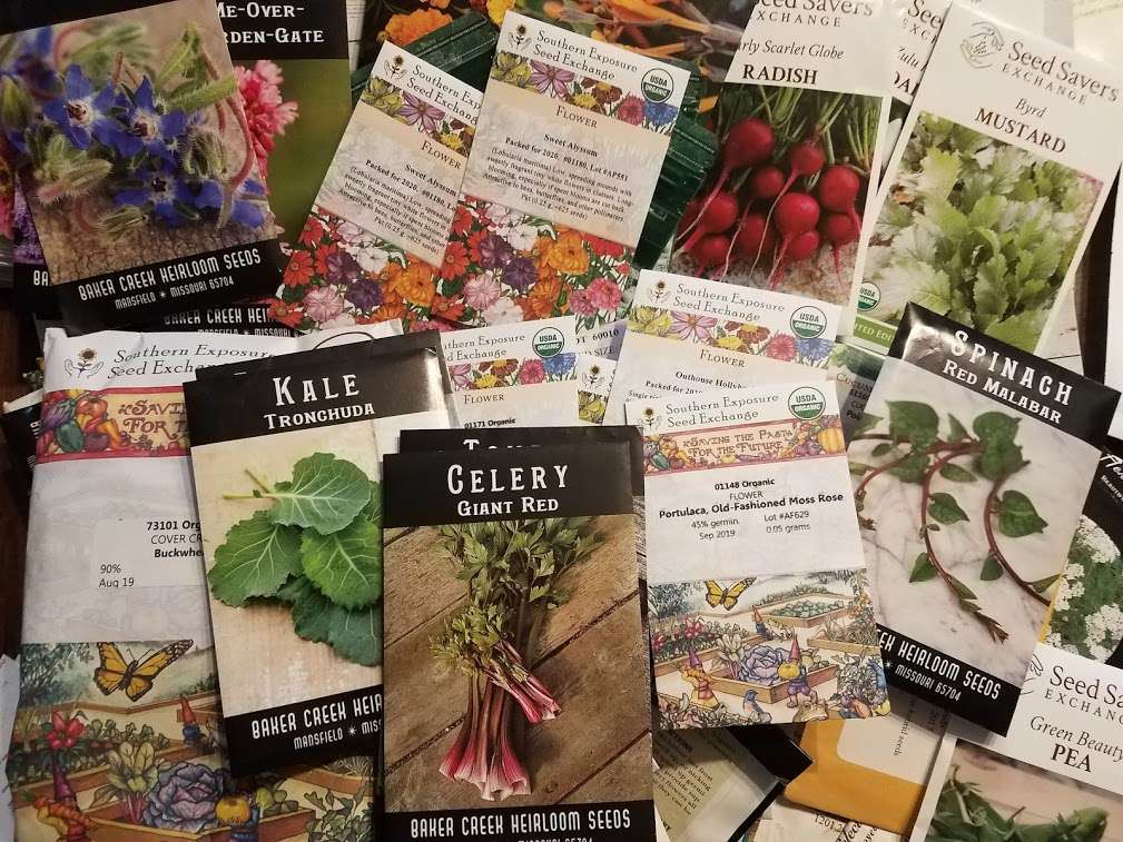 The Homestead Garden 2021 Garden Seeds