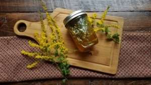 How to Make Goldenrod Honey