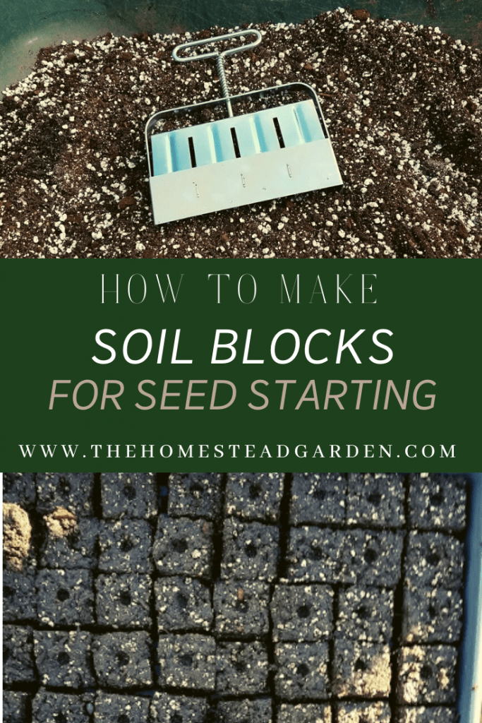 How to Make Soil Blocks for Seed Starting