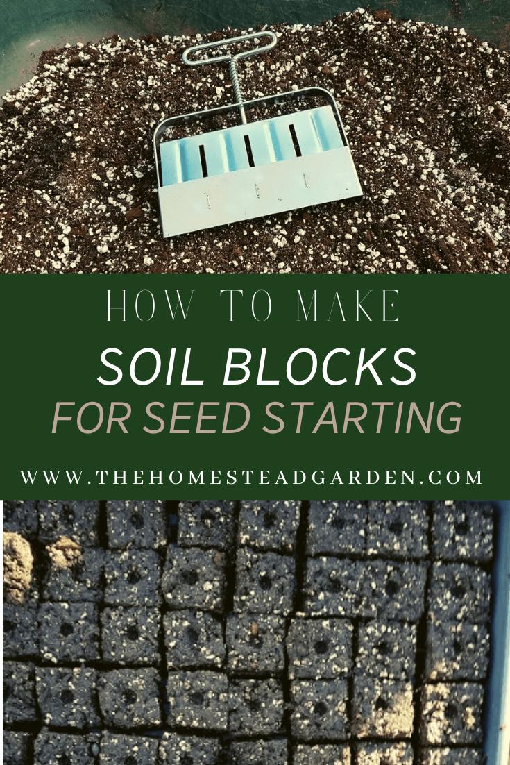 How to Make Soil Blocks for Seed Starting